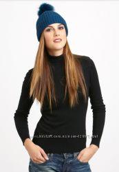 Брендовая шапочка Sofia Cashmere кашемир мех лиса цвет темно-красный