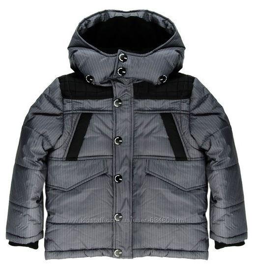 M-647 Зимняя евро куртка для мальчиков р. 104, 110, 116 ...