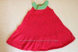 Платье-клубничка Gymboree на 4 года