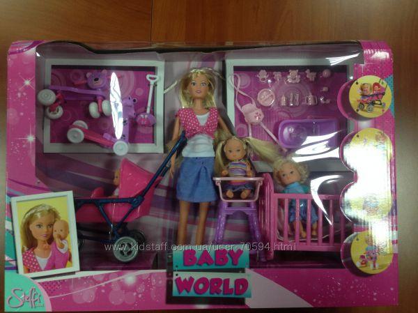Кукла Штеффи Набор с детьми