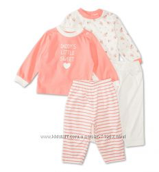 Пижамки C&A Baby club мальчикам и девочкам