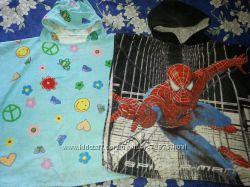 Полотенце-пончо с Спайдерменом