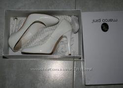 Белые туфли Marco pini