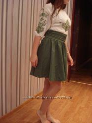 Платье в народном стиле