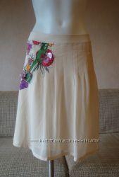 Дизайнерская французская юбка-праздник. Роскошь из Монако.