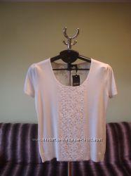 Очаровательная топ-блуза из летней коллекции. Size T2-T3. Кружево.