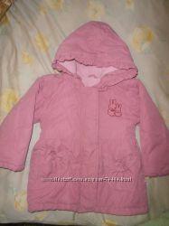 Куртка тепленькая на девочку