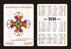 Календарики 1000шт-250 грн с разработкой макета