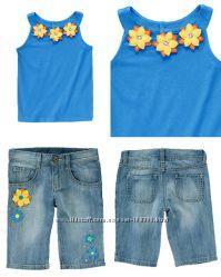 Яркие летние комплекты Крейзи8 на 4-6 лет