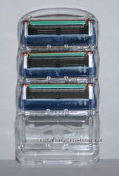 Сменные лезвия Gillette fusion 3 штуки без упаковки оригинал