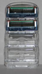 Сменные лезвия Gillette fusion 2 штуки без упаковки оригинал