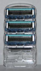 Сменные лезвия GILLETTE Fusion proglide оригинал 3 штуки без упаковки США