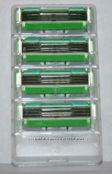 Gillette Mach 3 sensitive 4 штуки без упаковки и поштучно оригинал из США