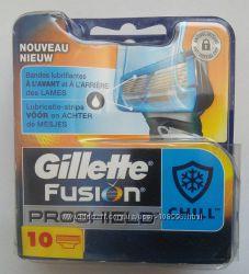 Супер новинка от Gillette сменные картриджи Fusion Proshield Chill оригинал