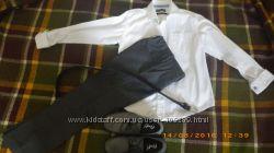 Школьные брюки MARKS&SPENSER 116 см, 5-6 лет, серые и др на праздник