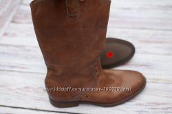 Кожаные сапоги Zara Man 43 разм