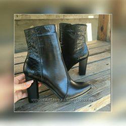 Ботильоны, ботинки, женская обувь , кожа