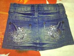 Моднявая юбочка Некст джинс