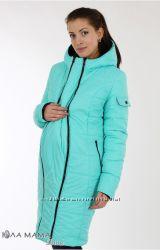 Куртки зимние для беременных со съемной вставкой