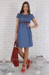 Платье для беременных и кормящих мам Селена