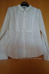 Белая блуза из хлопка- H&M