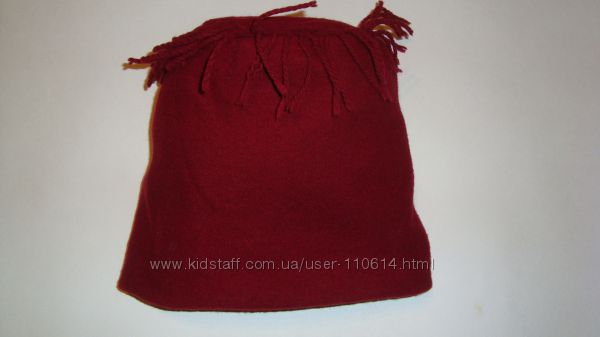 Прикольная теплая шерстяная шапка