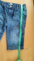 Шорты джинсовые F&F на 7-8 лет