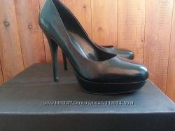 Туфли черные кожаные Kelsi Dagger 39 размер