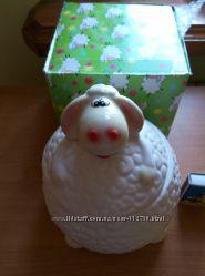 Банка для сыпучих, овечка 15х14х15см