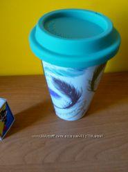 Чашки с силиконовой крышкой