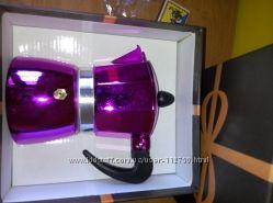 Кофеварка-эспрессо на 2 чашки оранж, розовая