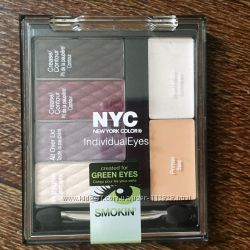 Набор теней NYC Smokey eyes
