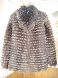 Модная шубка из чернобурки