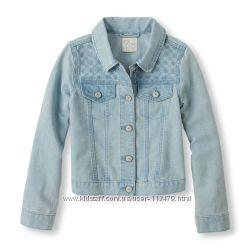 Коттоновый пиджак на девочку