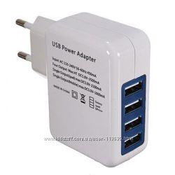 Универсальное зарядное устройство  шнур USB
