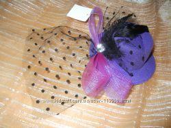 Распродажа Декоративные шляпки с вуалью, вуалетки