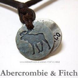 Кожаные украшения аксессуары ожерелье на шею, фенечки ABERCROMBIE