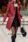 Кожаное пальто-трансформер 2-в-1. Размер L