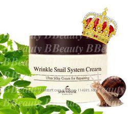 Улиточный крем Skin House Wrinkle Snail System Cream- волшебство в банке