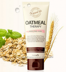 Увлажняющая пилинг-скатка с экстрактом овса Calmia Oatmeal Therapy Peeling