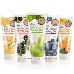 Натуральные пилинг-скатки Ekel Natural Clean Peeling Gel