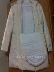 Продам зимнее пальто для беременных, кормящих