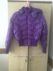 Куртка фиолетовая размер М состояние новой весна осень женская