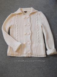 Теплый кардиган свитер 44-46 р.