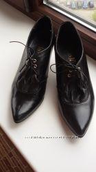 Красивые ботильоны-туфли на ножку 21-21, 5 см