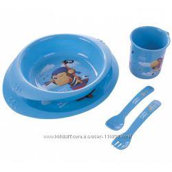 Наборы пластиковой посуды Canpol Babies и BabyOno в наличии