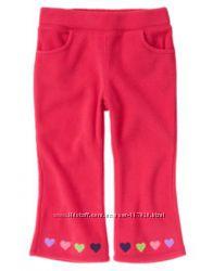 Флисовые брюки Crazy8 рост 84-92см