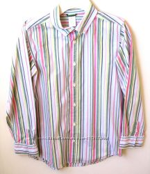 Натуральная рубашка производства GYMBOREE. 10-12 лет. .