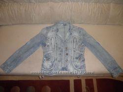 Джинсовый пиджак D&G р. S-М