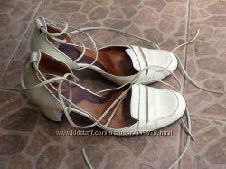 Итальянские женские кожаные туфли